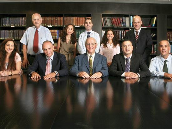 עורכי הדין במשרד ליפא מאיר / צלם: עינת לברון